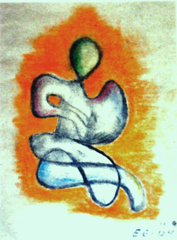 Love (Pastel Crayon Work)