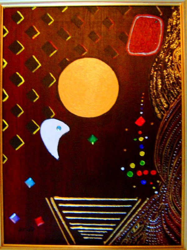 Party Time (Acrylic Work) Thanks To Maaret Puhakka For Ispirations!!
