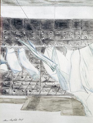 Anne Lassfolk: Merituulen raikkautta, säteilevää valkoisuutta
