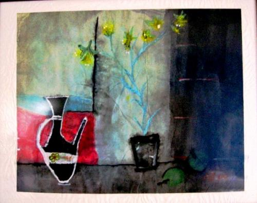 Harmony (Chinese Ink Work) Thanks To Maaret Puhakka For Learning)