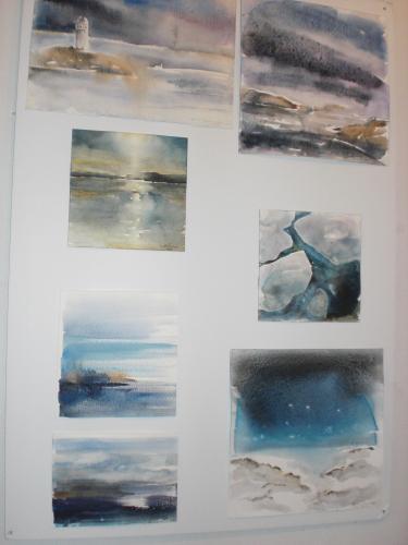 Eila Lumme Akvareller